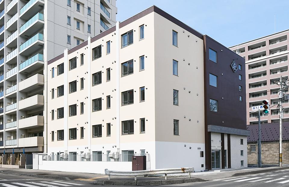 ビジョン札幌駅北口新築工事